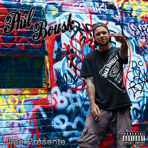 J'Me Presente - CD Cover