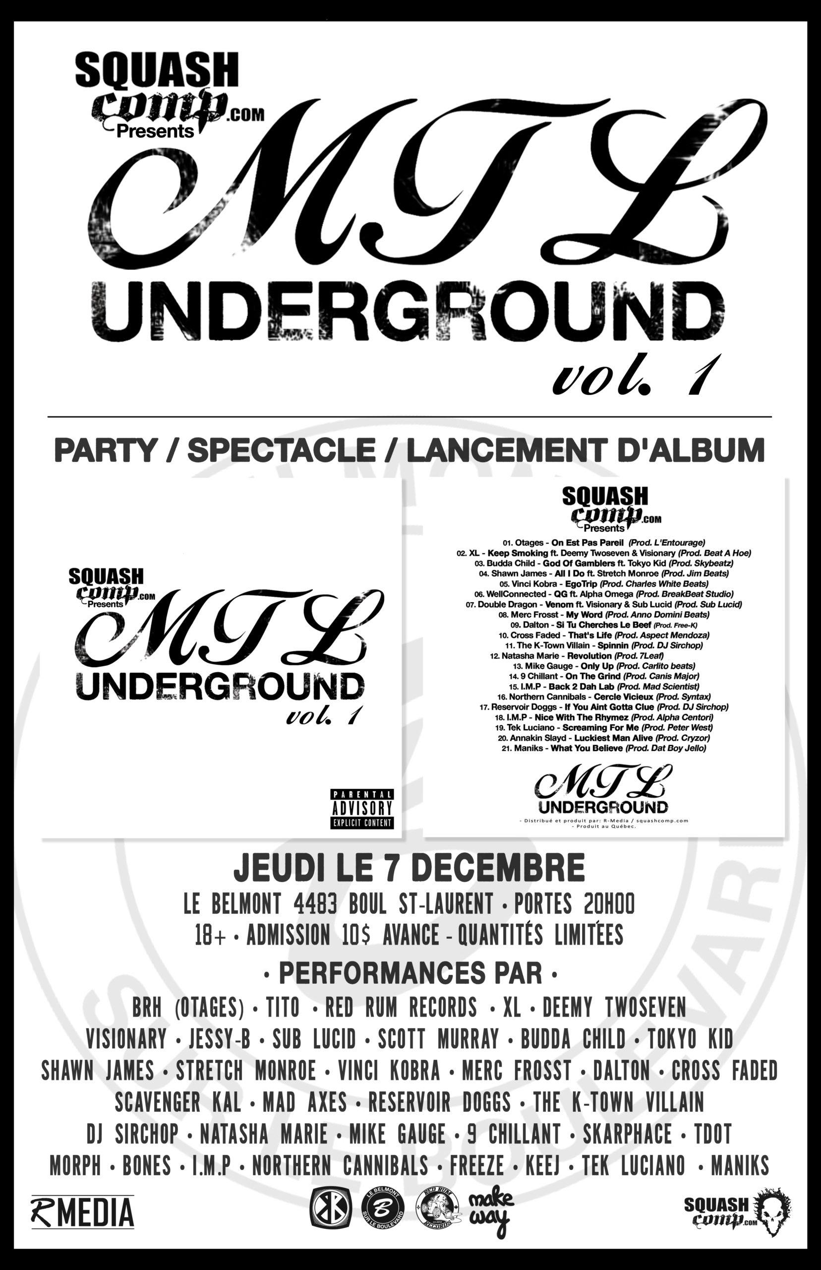 MTL Underground Show