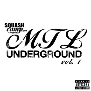 MTL Underground Vol.1 - CD Cover