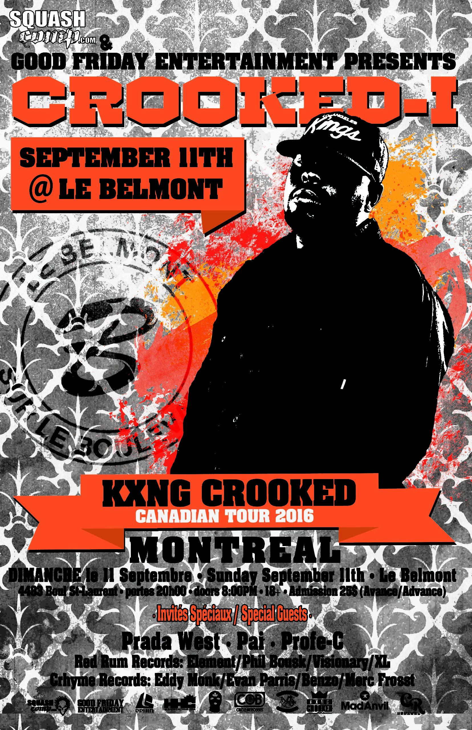 Crooked I Show