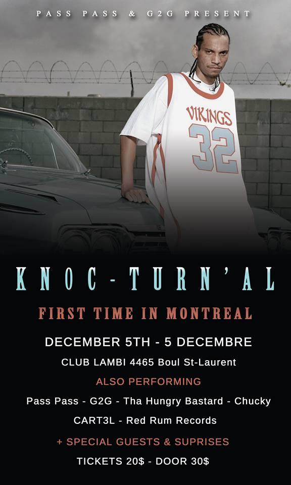 TRIPLE-R X KNOCK-TURN'AL Show