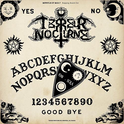 Terreur Nocturne Vol.4 - CD Cover